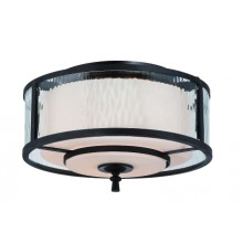 Dark Cherry 60w Dimmable 380mm Diameter Flush