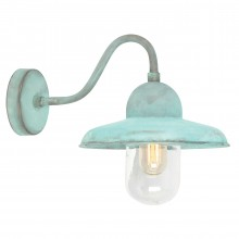 Verdigris 100W E27 IP44 Garden Wall Light