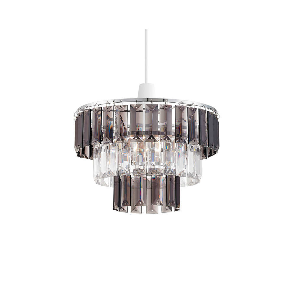 Modern 3 Tier Non Electric Acrylic Crystal Ceiling Light