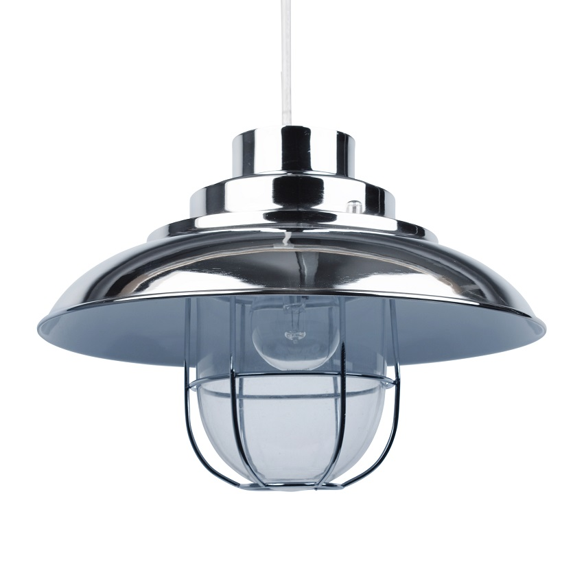 Modern Fishermans Style Ceiling Light Pendant Shades