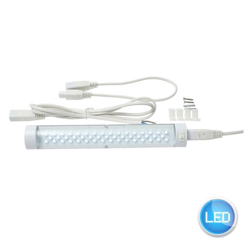 Set Of 2 Linkable 250mm LED Kitchen Under Cabinet Display