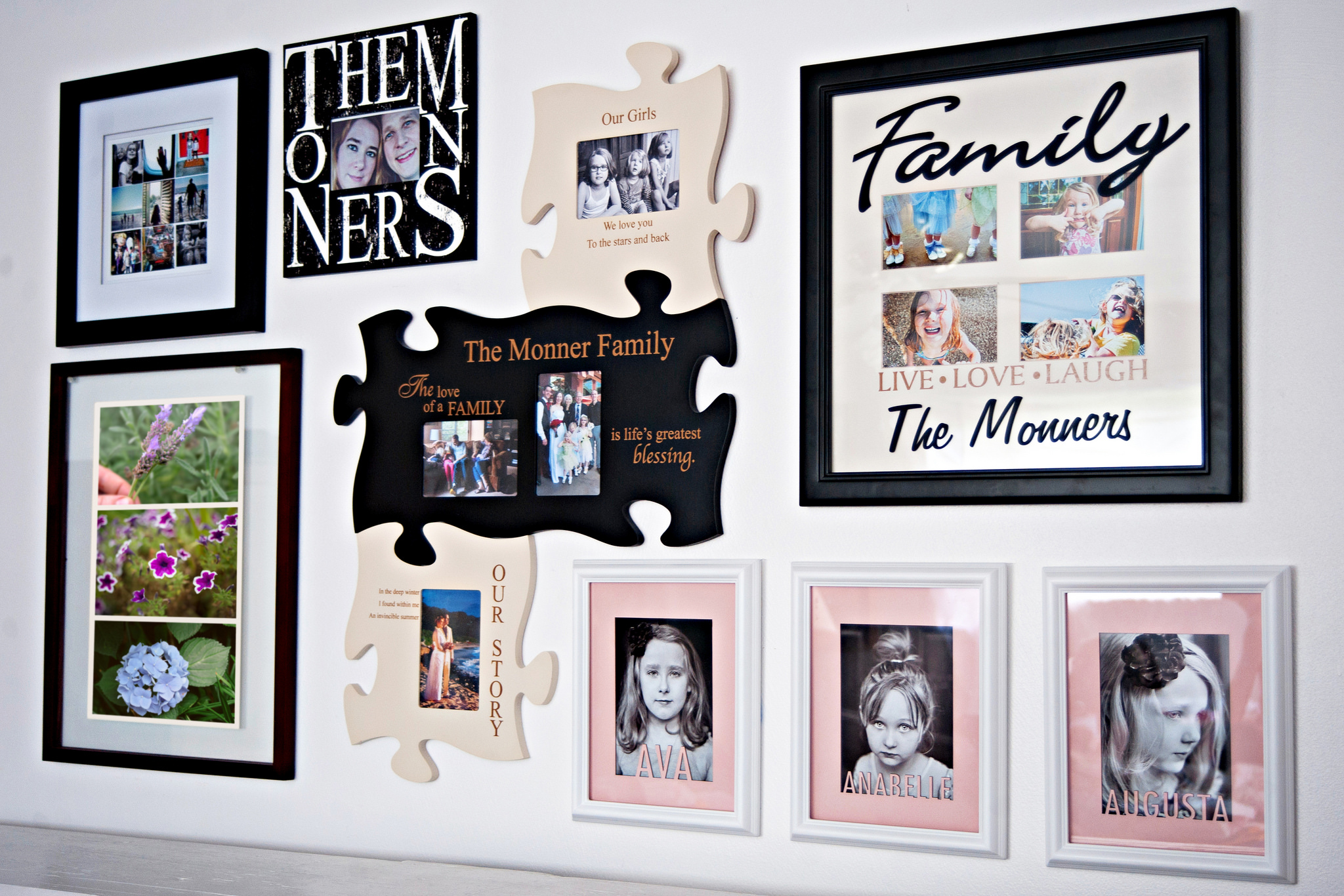 Family Gallery Wall Photo by Personal Creations