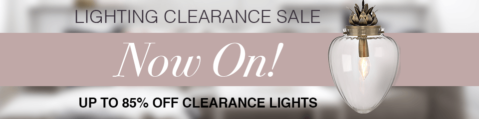 Lighting Clearance Sale