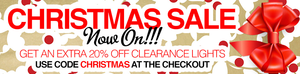 Christmas Sale - 20% Extra Off Clearance