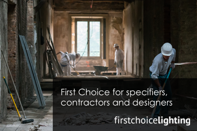 First Choice for specifiers, contractors and designers
